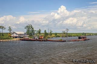 Amtrak's City of New Orleans   Lake Pontchartrain