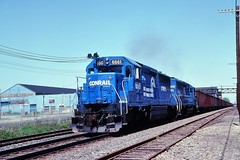 CR 6661 at Alliance, OH (dl109) Tags: conrail sd452