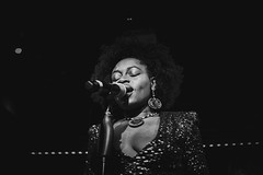 Baby Sol at Pizza Express London 18/1/17. (_Okobe_) Tags: music show perfonmance shot photo photography singer soul afro afropunk black