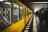 The yellow subway (Castro Camilo) Tags: fast berliner potsdamerplatz berlin subway u ubahn metro amarillo yellow