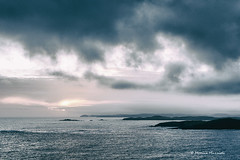 (Monica Muzzioli) Tags: sea island sky clouds mood shetland blue mare cielo acqua paesaggio landscape sundaylights weather water