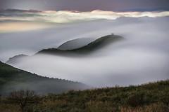 (王韋証) Tags: taiwan taipei cloud fog mountain photography landscape nikon night nopeople nightviwe