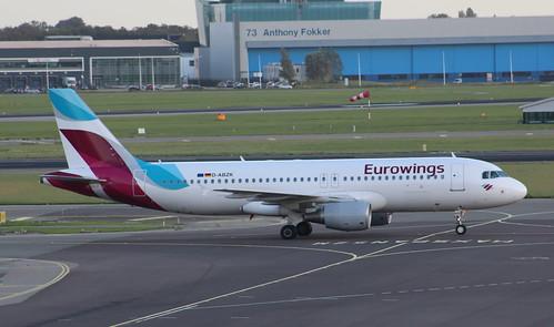 D-ABZK Airbus A320-216 Eurowings