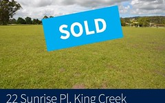 22 Sunrise Place, King Creek NSW