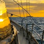 Sunset at yacht thumbnail