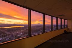 DSC02565 (www.mikereidphotography.com) Tags: sunrise seattle skyviewobservatory rainier 85mm 200mm 1635mm mirrorless sony canon
