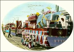 Decorated Float (ookami_dou) Tags: vintage japan bandwagon float railway elephant railwaycarriage wagon festivity
