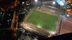 Spectator from Above! (Rckr88) Tags: viewfromatopthecairotower cairo egypt view from atop tower cairotower africa towers soccer football footballstadium stadium soccerstadium stadiums sport sports sportsstadiums city cities travel travelling spectator above spectatorfromabove