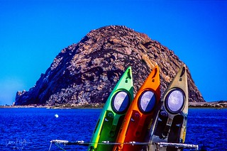 Morro Rock w/ 3 hashmarks of color