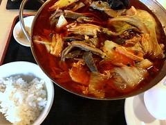 Hot pot from Hinabeya @ Akasaka (Fuyuhiko) Tags: hot pot from hinabeya akasaka 火鍋屋 赤坂 火鍋 激辛 spicy 鍋 中華料理 中華 料理 火鍋や tokyo 東京