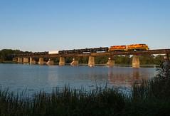Wide On The River (Joseph Bishop) Tags: rlhh qgry 2301 emd gp393 sor cnhagersvillesubdivision caledonia trains train track tracks railfan railroad railway rail rails