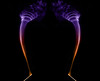 Holy Smoke (Santini1972) Tags: smoke flash art incense nikond5100 nikon35mm18 35mm light abstract tripod