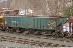 CRIX173242GB_EDeerfieldMA_230305 (Catcliffe Demon) Tags: lo railways railroading cnw chicagonorthwestern uprr unionpacificrr coveredhoppers freightcars grainhopper 3bay 4750cf wotw wagonsontheweb massachusetts usatrip3mar2005 ps ps2cd pullmanstandard gerailservices