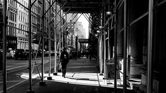 Morning Coffee (Dj Poe) Tags: nyc ny manhattan soho people shadow light candid street streets leica zeiss zeisscameralenses carlzeisslenses 2017 monochrome leicammonochrome andrewmohrer djpoe planart250 availablelight 50mm zm bw blackandwhite blancoynegro