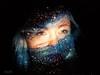 Alina (RubenTeles) Tags: woman eyes female model face projections studio galaxy