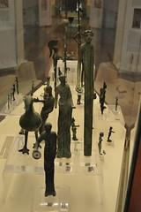 Rome, Italy - Villa Giulia (Etruscan Museum) - Bronzework (jrozwado) Tags: europe italy italia rome roma villagiulia museum archaeology etruscan bronze bronzework figurine