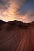 Twisted Earth (Maddog Murph) Tags: paria vermillion cliffs plain plateau utah arizona page kanab wave second sandstone twisting earth red orange sunset monsoon thunderstorm showers rain clouds twilight rare strange twisted