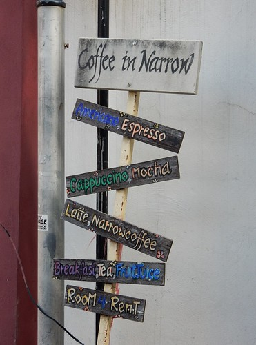 Coffees Sign
