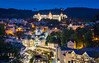 _MG_2770_web - Karlovy Vary skyline in blue hour (AlexDROP) Tags: 2017 karlovyvary carlsbad czechrepublic travel architecture color city skyline urban night circpl spa resort scape river tepla canon6d makroplanar100mpze zeiss carlzeiss historicalplace best iconic famous mustsee picturesque postcard hdr panoramic europe