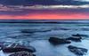 Dawn Seascape (Merrillie) Tags: horizon color centralcoastnsw nature dawn surf beauty background newsouthwales sea nswcentralcoast nsw ocean coastal wave sky view sunrise rocky landscape scene vacation water holiday shore toowoonbay centralcoast blue coastline scenic beautiful travel pink rocks light australia seascape littlebay coast clouds waves