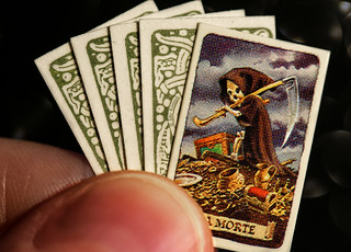 The Tiniest Tarot in the World