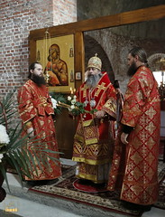 53. Первое богослужение в храме г.Святогорска 30.09.2014
