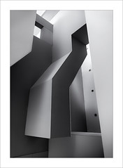 Abstracció III / Abstraction III (ximo rosell) Tags: ximorosell bn blackandwhite blancoynegro bw buildings arquitectura architecture abstract abstracció llum luz light nikon d750 volumens interiors interiores