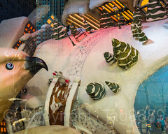 """2017 Holiday Window Display """"The Perfect Gift Brings People Together"""" at Macy's Herald Square, New York City (jag9889) Tags: 2017 2017holidaywindowdisplay 20171127 34thstreet aerialview architecture bird bridge bridges broadway bruecke brücke building christmas christmastree crossing departmentstore detail display gift heraldsquare holiday house iceskating infrastructure macy macys manhattan midtown musical ny nyc newyork newyorkcity outdoor penguin people pont ponte puente punt reflection retail rink snow span store storewindow structure text usa unitedstates unitedstatesofamerica window jag9889"""