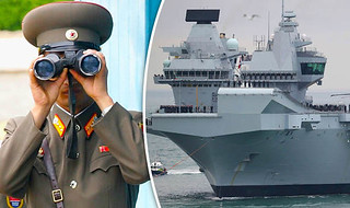 Navy ready to 'rush HMS Queen Elizabeth II into battle against North Korea in World War 3'