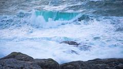 turning blue (Sunshinenshadows) Tags: waves thesea isleofharris outerhebrides storm scotland winterseas