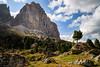Dolomiti (Arnold van Wijk) Tags: campitellodifassa geo:lat=4651028557 geo:lon=1175641778 geotagged italië trentinoaltoadige ita landscape landschap dolomieten dolomiti dolomites italy italia italie mountain bergen natuur nature