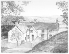 Pentre Farmhouse, Melin-y-Wig, Denbighshire (formerly Merioneth), Wales