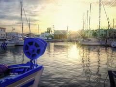 (835/17) Puerto del Cabo de Palos (Pablo Arias) Tags: pabloarias photoshop photomatix capturenxd españa cielo nubes arquitectura bote barco agua mar mediterráneo efectos cabodepalos murcia