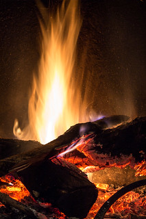 Nothing better than a good fire !