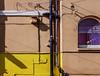 purple blinds (lowooley.) Tags: ramsgate kent southeastengland wall shadows window blinds yellow purple