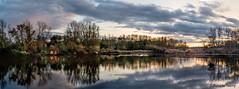 Panorama  du nord de la France (musette thierry) Tags: panorama nikon thierry d600 reflex photographie fretin marrais automne couchédesoleil nuit soir nature