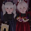 (SukiPie) Tags: second life secondlife sl cute best friends halloween trick or treat sweets candy costumes toddleedoo