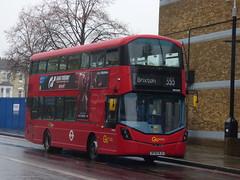 About Time... (londonbusexplorer) Tags: goahead london volvo b5lh wrightbus gemini 3 whv69 bf65wju 355 brixton mitcham tfl buses