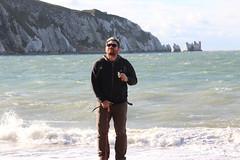 Craig at The Needles (ec1jack) Tags: ec1jack kierankelly canoneos600d isleofwight solent england britain uk europe november 2017 autumn island britishisles theneedles alumbay chalk whitecliffs