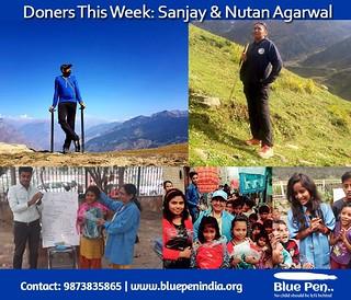Donor this week: Mr Sanjay & Mrs Nutan Agarwal