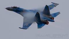 Ukrain Airforce Su-27 58 (william.spruyt) Tags: su27 ukrain riat fighter jet plane aircraft