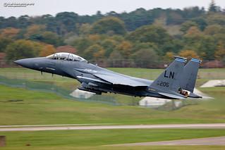 96-0205 McDonnell Douglas F-15E Strike Eagle.