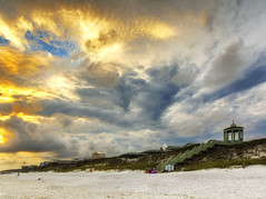 Seaside, Florida (NorthFla) Tags: florida emeraldcoast seaside sunset beach sand gulfofmexico