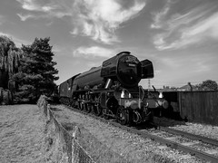 Flying Scotsman at Didcot 8 (Railway-Fox) Tags: didcot railway centre lner pacific flying scotsman 60103 4472