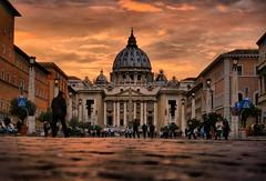 San Pietro, Roma (elisamarchina1) Tags: rome roma sanpietro stpeter church amzing beautiful travel photography