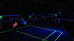 VIDEO: UV Badminton