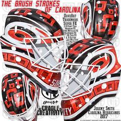 The Brush Strokes Of Carolina (DAVEART MaskGallery) Tags: carolina hurricanes smith daveart nhl
