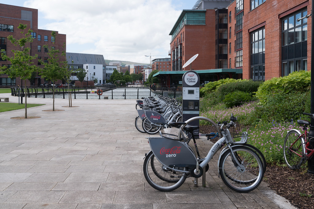 BELFAST BIKES DOCKING STATION 3927 [GASWORKS - LAGAN TOWPATH]-134063