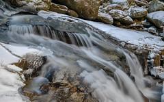 Snyder Brook, New Hampshire (jtr27) Tags: dscf4147xl1e jtr27 fuji fujifilm fujinon xt20 xtrans xf 1855mm f284 lm ois xf1855mmf284lmois snyderbrook brook stream longexposure salroc falls newhampshire nh newengland whitemountains fall ice