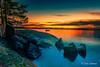 Keilaniemi II (Joni Salama) Tags: meri kivet maa luonto exposureblending efekti auringonlasku keilaniemi sergeramellipresets valo lightroom nikcollection espoo suomi vesi